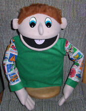 Professional 22 inch tall Boy Puppet-Ministry,Christian Education, VBS