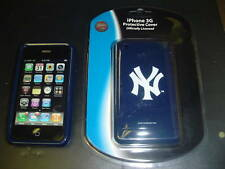NEW YORK YANKEES Blue CELL COVER CASE protector Holder APPLE iPHONE 3G 3GS