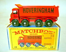 Matchbox RW 17D Hoveringham Tipper frühe Version schwarze Bpl. in Box