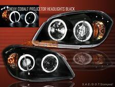 2005-2008 CHEVY COBALT HEADLIGHTS LED 2 HALO CCFL