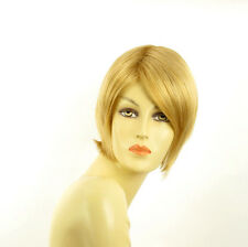 Perruque femme courte blond clair doré ALINE LG26