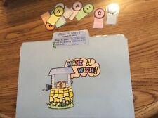 Make a Wish! Abc order literacy Centers File Folder Games PreK