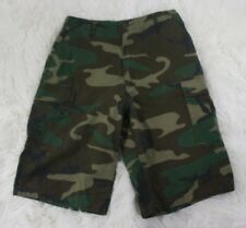 Rothco Ultra Force BDU Military Division Camo Camouflage Cargo Shorts Sz 30 x 12