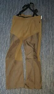 Cabelas Mens Upland Brush Bird Hunting Pants Reinforced 40W 32L Brown