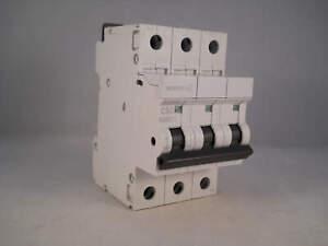 MEM MCB 50 Amp Triple Pole 3 Phase Breaker Type C 50A C50 Memshield 2 MCH350