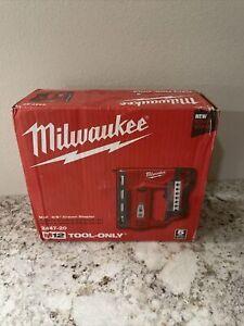 Milwaukee 2447-20 M12 3/8 Cordless Crown Stapler (bare tool) NEW