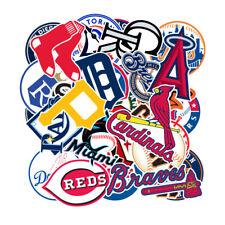 30 Mlb Baseball Teams Logo Decals Vinyl Stickers for Skateboard/Luggage/Laptop