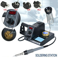 WEP 60W LED Digital Soldering Iron Station Variable Adjustable Temperature Stand