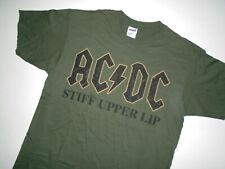 AC/DC Concert Band T-Shirt * STIFF UPPER LIP * Vtg 2000 ANVIL Tags NEW : Lg