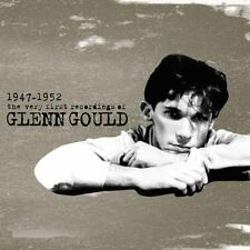 GLENN GOULD  - The Very First Recordings of 1947-1952 SONY RECORDS CD 2002