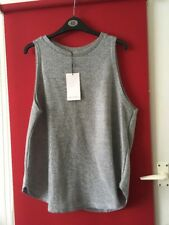 Zara Silver Top Large Knitted Chainmail Look BNWT