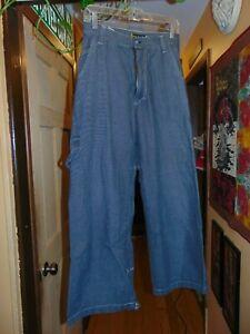 Vintage 90s GAT Gypsies And Thieves Baggy Mega Wide Leg Raver Skate Goth Jean 30