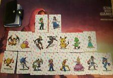 17 Pieces Super Smash Brothers Super Smash Bros Amiibo NFC Cards SSB