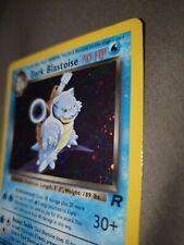 Pokemon Card Rare Holo Team Rocket Dark Blastoise 3/82 NM