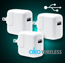 3x USB Wall Charger Cube Plug for iPad Series Air Mini iPhone 4 5 6 6s plus iPod