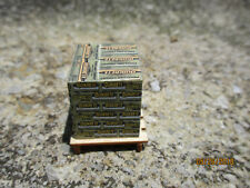 O scale pallet load of Quikrete sacks 1/48 Portland cement