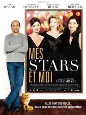 Affiche Pliée 60x160cm MES STARS ET MOI (2008) Deneuve, Emmanuelle Béart TBE