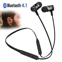 Neckband Bluetooth Headphone Running Earphone Wireless Stereo Sound Headset Mic