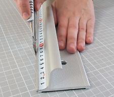 205cm Altera Sicherheitslineal robustes Aluminium rutschfest mit Fingerschutz