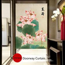 Hanging Noren Door Curtain Tapestry Chinese Doorway Curtain Drape Feng Shui