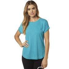 Fox Racing Womens Escaped Tee Shirt Size Small Jade Fast & Free UK Post