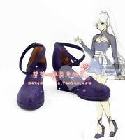 RWBY Weiss Schnee Shoes Cosplay Shoes Boots Cos Shoes