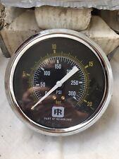 INGERSOLL RAND AIR  COMPRESSOR PRESSURE GAUGE 92698240 300psi 100mm  INC VAT