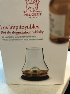 Peugeot whiskey tasting set France Open Box New