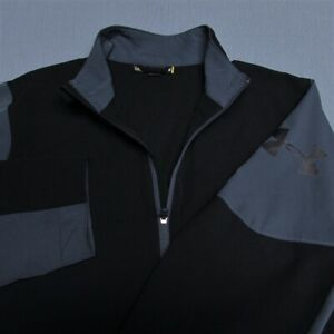 UNDER ARMOUR LIGHTWEIGHT POLY GOLF JACKET--L--FULL ZIP---EXCEPTIONAL QUALITY