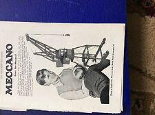 m9-2 ephemera 1955 advert meccano great fun liverpool crane