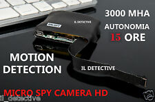 Spy Camera Spia  HD MOTION DETECTION TELECAMERA