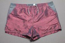 L * vtg 90s BODY GLOVE metallic short swim trunks / shorts