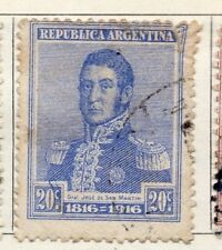 Argentine Republic 1916 Early Issue Fine Used 20c. 106754