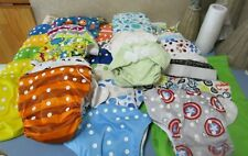 New Listing29 Baby Pocket Cloth Diaper Washable Zip Bag, liners, 25 flat 10 naturally natur