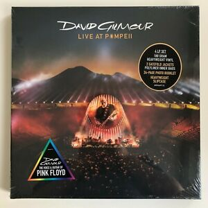 David Gilmour - Live At Pompeii 4LP Box Set Vinyl Record [NEW/SEALED] Pink Floyd