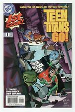 DC Comics Teen Titans Go (2004) #1 Torres Nauck 1st Cartoon Network Comic App NM