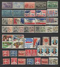 U.S.A. états-unis un lot de timbres anciens poste aérienne / T1564