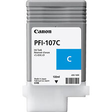 Original Tinta Canon IPF670 iPF680 iPF685 iPF780 / PFI-107C CIAN Cartucho de