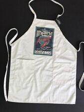 Maine Lobster Vintage Sign Chef's Apron 2-Pocket *Lantern Press Souvenir Gift