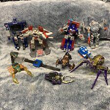 Transformers robots LOT 10