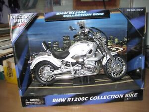 Tam's die-cast metal 1:9 scale BMW R1200C collection bike model in box 1159W/D