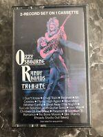 Ozzy Osbourne Randy Rhoads Tribute Cassette