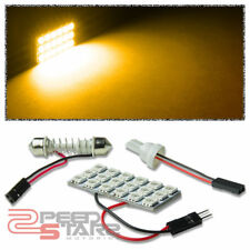 T10 5050 194/168/W5W 18SMD BRIGHT AMBER LED INTERIOR DOME/MAP WEDGE LIGHT/BULB
