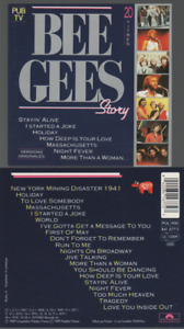 Bee Gees Story Cd Album Best Of France 1989 Stayin' Alive You Should Be Dancing