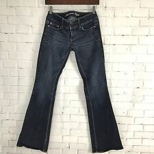 American Eagle Womens Jeans Size 4 Artist Stretch Boot Cut Dark Wash