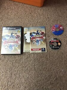 Nintendo GameCube - Pokemon Colosseum with Pokemon Box, Ruby & Sapphire