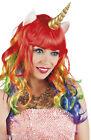 Arc-en-ciel Licorne Déguisement Costume Conte De Fées Fantasy Perruque avec