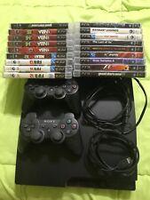 PS3 slim 320 go; 2 manettes, câble usb et alimentation