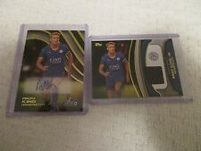 2015 Topps Premier Gold Andy King Lot of 2 Premier Autograph & Fibers Relic