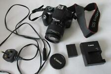 Canon EOS 1100D 12MP Digital-SLR DSLR Camera/Camcorder +EF-S 18-55mm DC III Lens